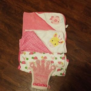 Baby lot towels, blankets